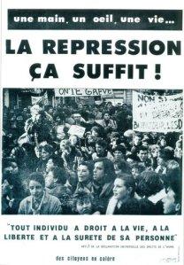 1986 Verite Rhone Alpes La Repression Ca suffit