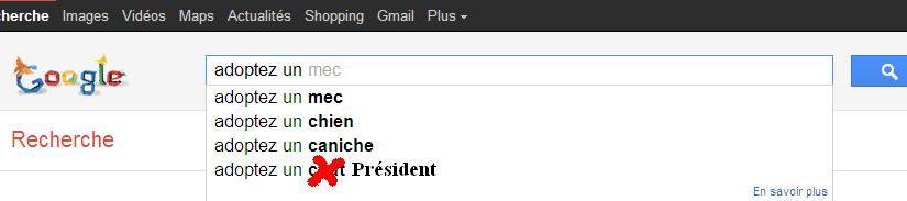 Adoptez un Président ! Mais pas n'importecomment…