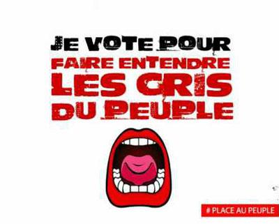 gauchiste et fier : l'espoir nous porte, et porte un nom :#Mélenchon
