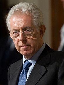 Il Professore Monti recalé parl'Europe