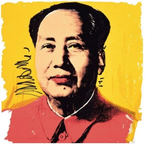 Mao par Andy Warhol