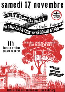 - COUP DE TARNAC À NOTRE DAME DES LANDES dans - Aéroport Notre Dame Des Landes