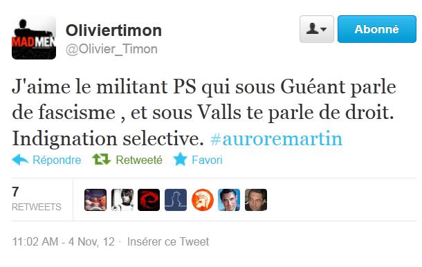Valls et Taubira démis de leurs fonctions par les instances européennes ?#AuroreMartin
