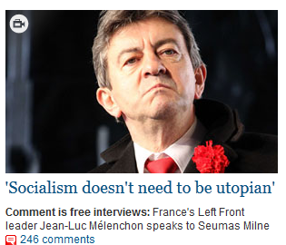 Mélenchon The Guardian