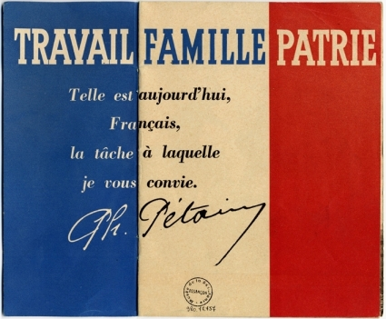 Travail-Famille-Patrie