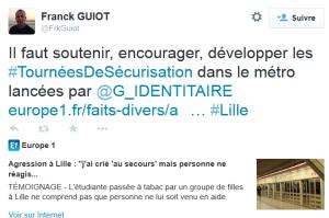 Capture twitter Guiot