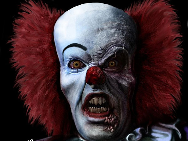 clown horrible