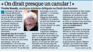 Loi Macron, loi bidon. Loi Rebsamen… à rien ? (surtout pour les femmes !)#SOSEgalitépro