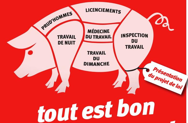 #LoiMacron : Le PS et l'UMP, même collusion libérale, même combat contre lessalariés