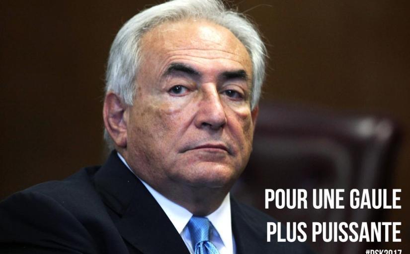 tout ce raffut pour un queutard ?  Notre pays est tombé bien bas…#DSK