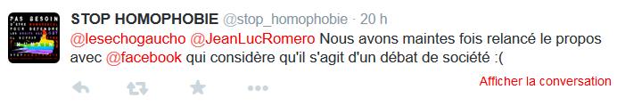 stop homophobie