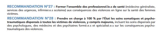recommandations HCE 9